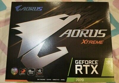 Aorus GeForce RTX 2070 XTREME 8GB Graphics Card