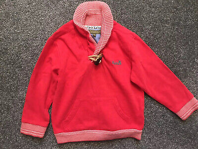 Baker By Ted Baker Boys Red Jumper Age 3-4 Years