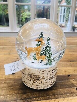Gisela Graham Duck snow globe dome waterball Easter Decoration