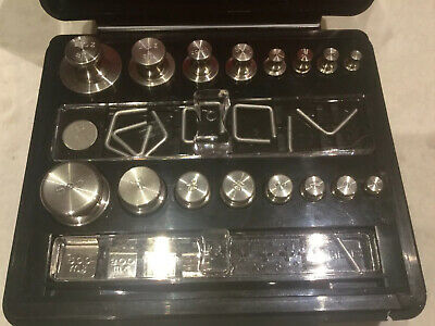 Troemner Scale Weights Set Oz, Grams 30 Pieces