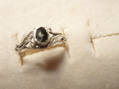 Grandmas Estate 925 Sterling Silver Gem Stone Ring