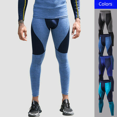 Men's Camo Sport GYM Legging Cycling Trousers Tight Compression Base Layer Pants