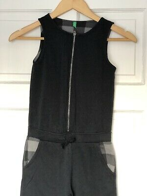 Girls United Colours Of Benetton All In One - Playsuit - Black - M - 7-8 Years
