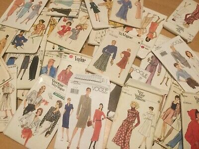 Job Lot of Sewing Patterns, Vogue sewing patterns 31 in total