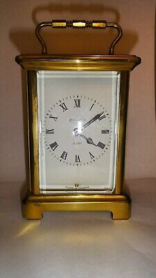 Vintage 8 day BAYARD Carriage clock made by Duverdrey & Bloquel No. 47221