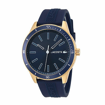 Lacoste 2011008 Key West Men's 42mm Navy Blue Dial Stainless Steel Watch