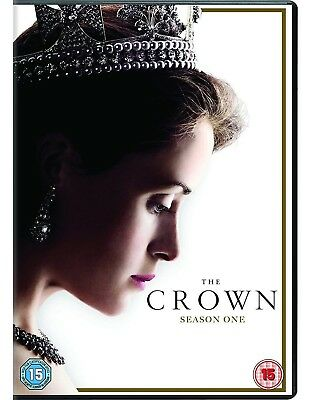 THE CROWN COMPLETE SEASON 1  -  UK DVD BOXSET  - FREE 1st CLASS POST!
