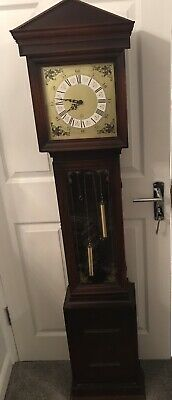 Mahogany Grandmother Clock