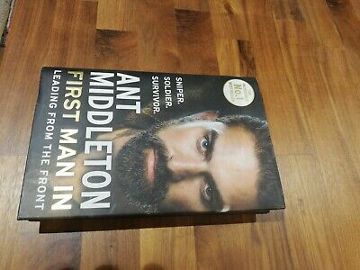 First Man In: Leading from the Front, like New Ant Middleton Book