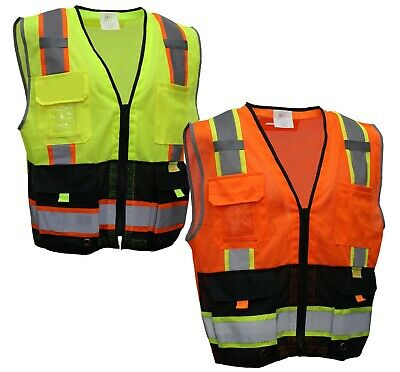 RK Safety P5511/2 Class 2 High Visible Two Tone Reflective Strips Breathable Mes