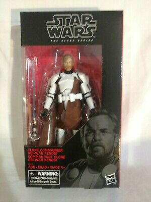"Star Wars Black Series Clone Commander Obi Wan Kenobi Walgreens Exclusive 6"" New"