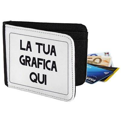 Wallet Customized, Coin Purse with Graphics Personalized, Photo, Logo