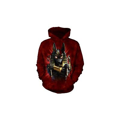 "/""Anubis Soldier/"" The Mountain Hoodie S through 3X"