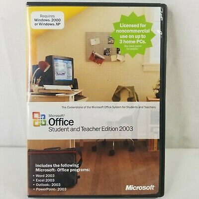 Microsoft Office Home and Student 2007 Retail (3 users) MS Word Excel w/ Key
