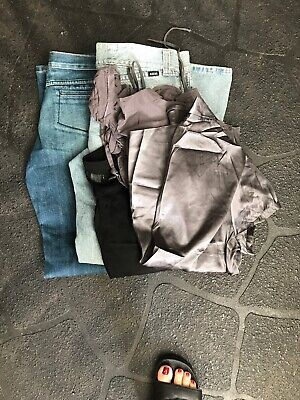 Size 14 Clothes Pack, Jeans (gripp & Rider), 3 Shirts