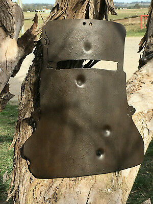 Ned Kelly Helmet Wall Hanging , Full Size 1.6 mm steel WH6-4-519