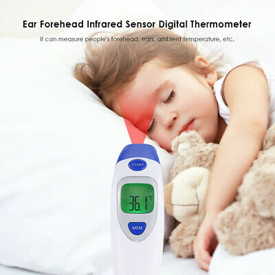 No Touch Thermometer Forehead Temporal for Kids Infant Head Digital Ear Accurate
