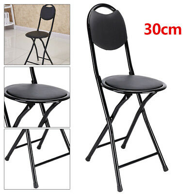 New Strong Heavy Duty Folding  Stool Chair Kitchen Office Breakfast Padded