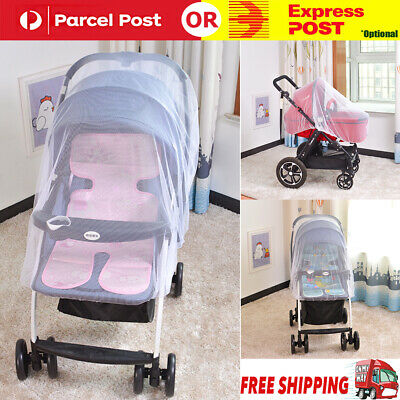 Anti Mosquito Fly Insect Net Mesh Buggy Cover For Stroller Pushchair Pram Hot