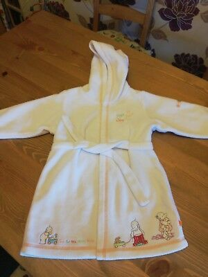 Mothercare Humphreys Corner Dressing Gown Up To 12 Months