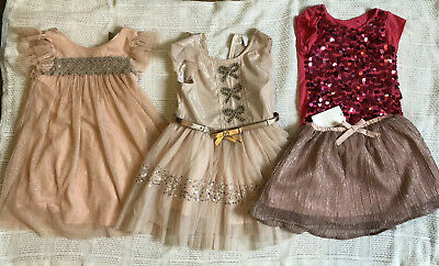 Girls Next 2-3 Years Christmas Dress/ Outfit Bundle Excellent Condition