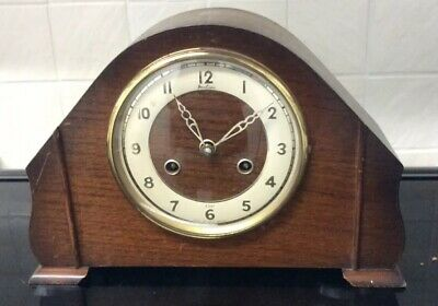 "Vintage Bentima Mantel Clock"" Working """