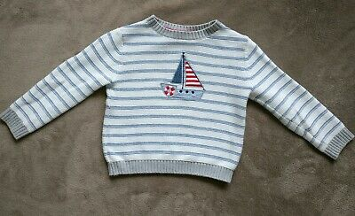 Little White Company boys jumper 2 - 3 years