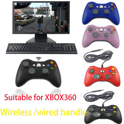 2.4G  wired/Wireless Game Controller Gamepad Joystick Joypad for Xbox 360