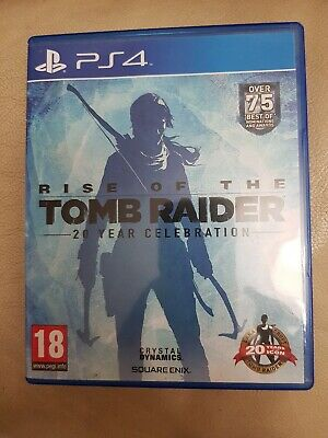 Rise of The Tomb Raider - 20 Year Celebration Sony PlayStation 4 2016