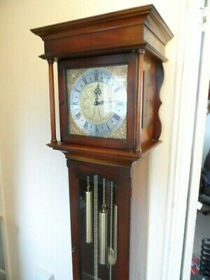 Grandfather Clock English Made Triple Weight