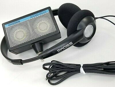 Koss KTX-1 Headphones WIth Sound Cells Mini Speakers Vintage Stereo Portable