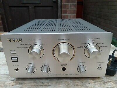 Teac A-H300 Stereo Integrated Amplifier Silver