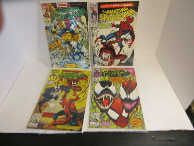 AMAZING SPIDER-MAN #360 361 362 363 - NM+! 1st Carnage! Venom! Original Owner!