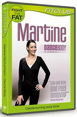 Martine McCutcheon Dance Body DVD Fitness Keep Fit NEW Exercise Calorie Burner