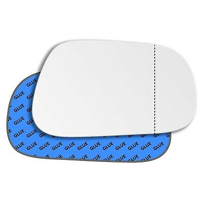 Right Driver Side Wide Angle Mirror Glass for Jeep Grand Cherokee 93-96 290RAS