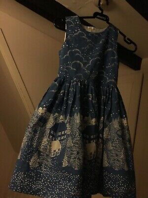 Girls John Lewis Christmas dress age 8. Perfect condition.