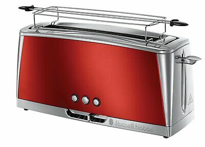 Russell Hobbs 2325056 broodrooster / grille-pain luna - solar red long / rouge