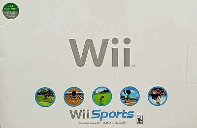 Wii Game Console with Wii Sports Game - White (U.A.E.)
