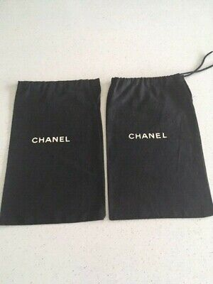2 x Genuine Chanel Shoe Dust Bags