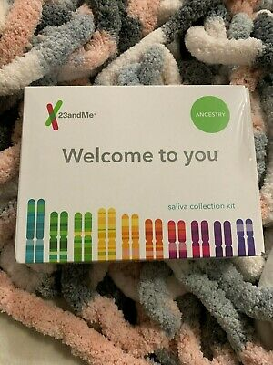 NEW SEALED PRE-PAID 23andMe Genetic Ancestry DNA Test Saliva Collection Kit