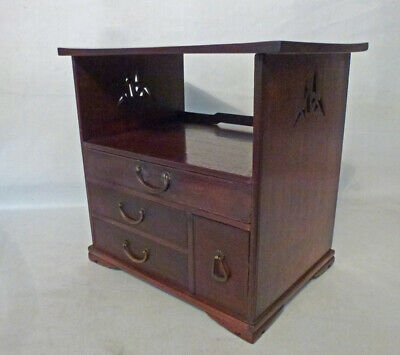 Vintage Small Japanese Personal Chest, Tea Tansu