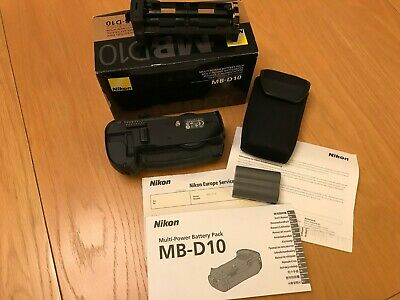 Nikon MB D10 battery grip in mint condition boxed complete