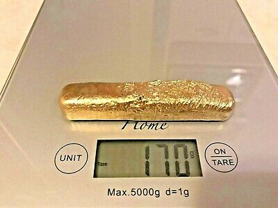 77 Grams Scrap Gold 1 Bar For Gold Recovery Melted Different Computer Pins