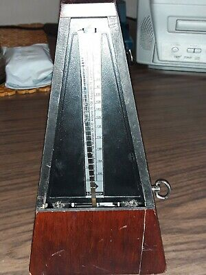 Vintage wittner wood metronome made in w. Germany,preowned.