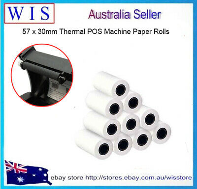 16/PK Thermal Pos Machine Paper,Credit Card Receipt,POS Paper,57 x 30mm Size