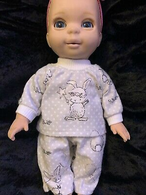 Dolls Clothes - Pyjamas Made to Fit Luvabella Newborn Doll