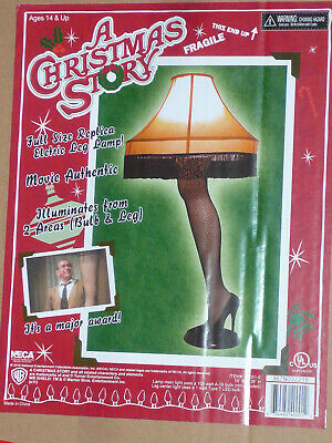 "NECA A Christmas Story 40"" inch LARGE Leg Lamp Prop Replica In Stock Ralphie Old"