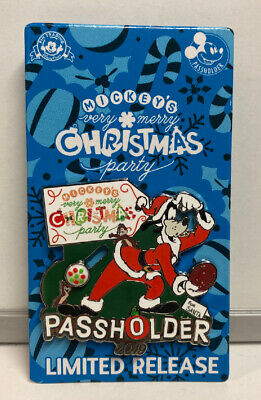 Disney's 2019 WDW Mickey's Very Merry Christmas Party Passholder Pin , New