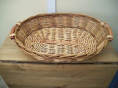Large Display/Storage Wicker Basket  great condition