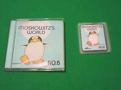 Brother Embroidery Card No.6 Moskowitz's World MRM Animals Cartoon Duck Dinosaur